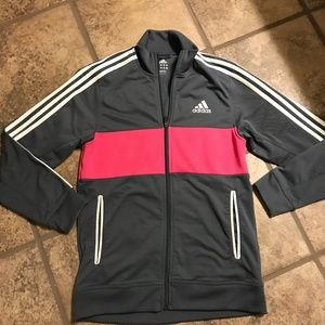 ADIDAS ZIP FRONT JACKET SIZE SMALL